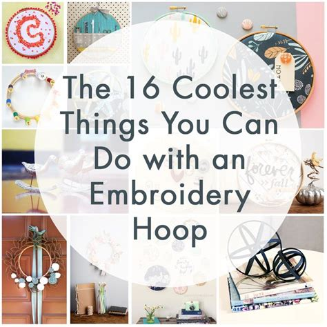 embroidery crafts projects 25 best ideas about embroidery hoop crafts on