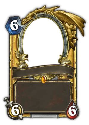 make hearthstone card blank golden legendary hearthstone card by guardians38 on