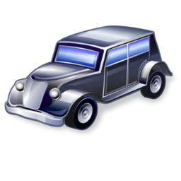 Car Desktop Icons by Vintage Car Icon Real Vista Transportation Iconset