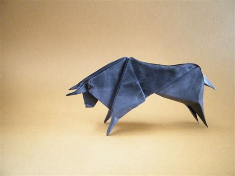 origami bull this week in origami edition origami