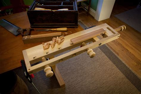 portable woodworking bench woodwork portable wood carving bench plans pdf plans