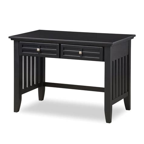 shop home styles arts and crafts black student desk at
