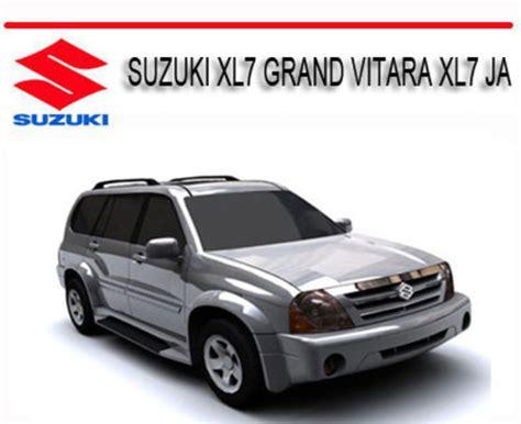 service manual automotive air conditioning repair 2001 suzuki vitara parking system suzuki
