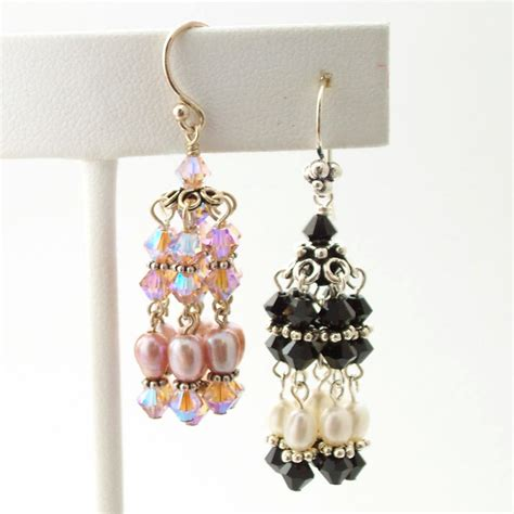 how to make chandelier earrings with how to make beaded chandelier earrings chandelier