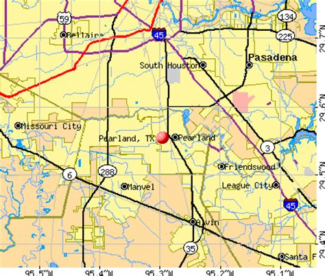 pearland tx pearland tx 77584 profile population maps real