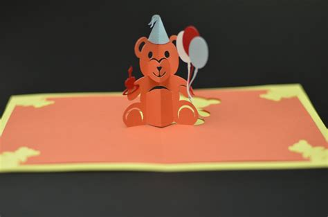 how do you make pop up cards teddy pop up card tutorial and template creative