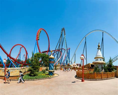 barcelona surroundings port aventura theme park