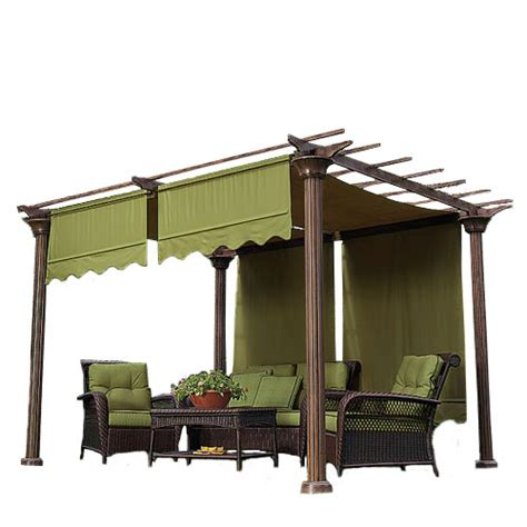 pergola replacement covers universal designer replacement pergola shade canopy ii