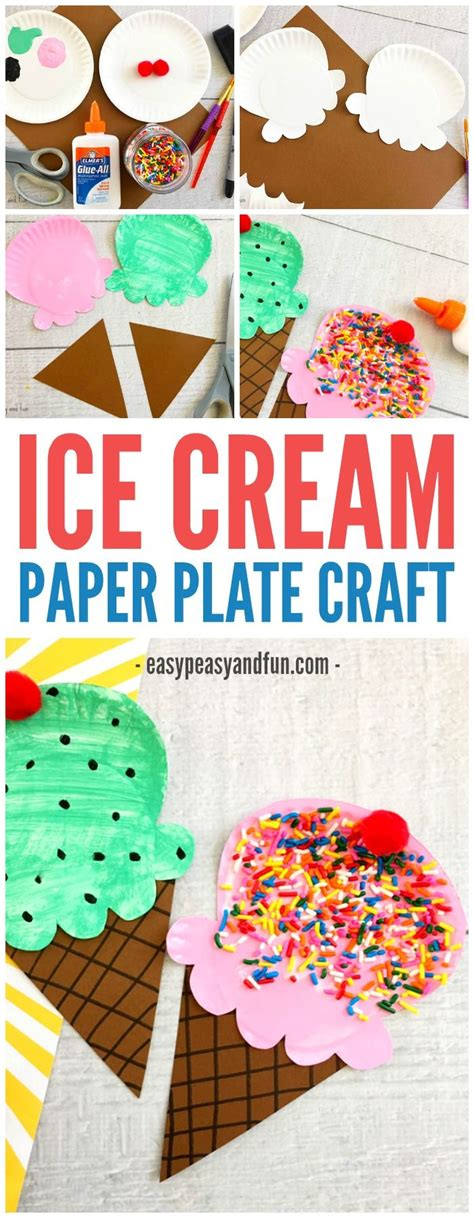 craft activities for best 25 crafts ideas on icecream