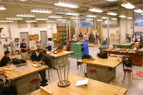 woodworking school teachers evergreen school