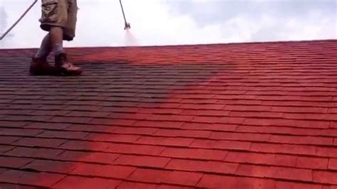 spray painting roof tiles shingle roof painting