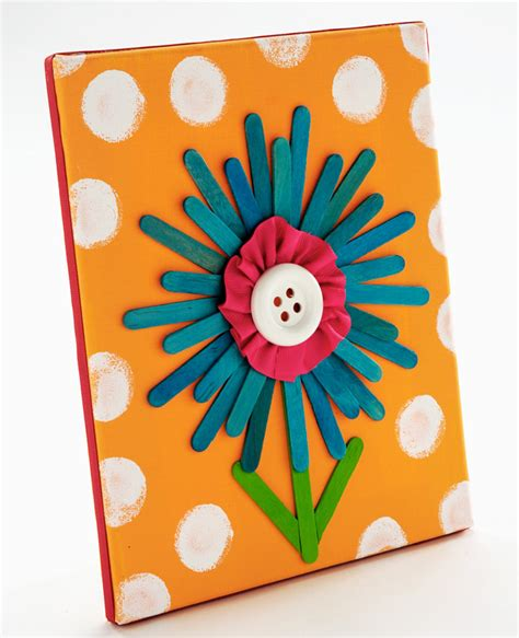 popsicle craft projects craft painting popsicle stick