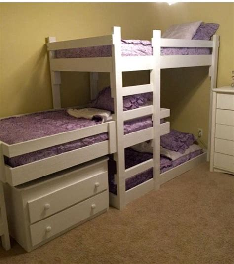 three way bunk bed the 25 best bunk beds ideas on