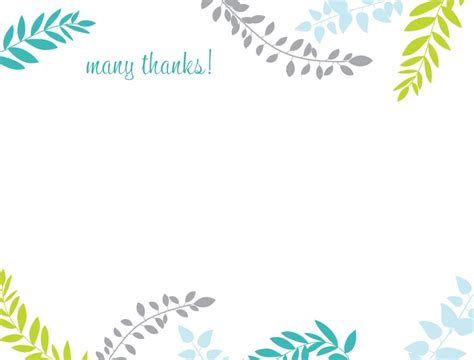 thank you card collection images thank you card templates