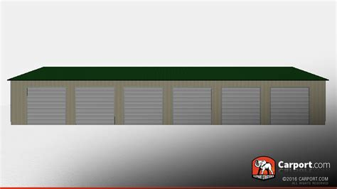 6 Car Carport by Steel Garage For 6 Cars 36 X 81 X 12 Shop Metal