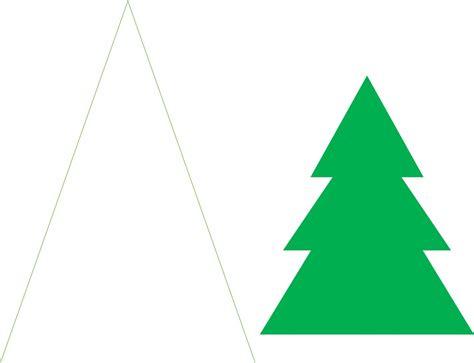 papier weihnachtsbaum craft idea paper trees