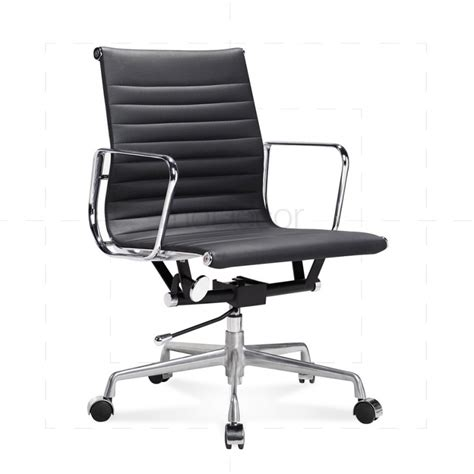 eames low chair eames black leather office chair modecor furnitures