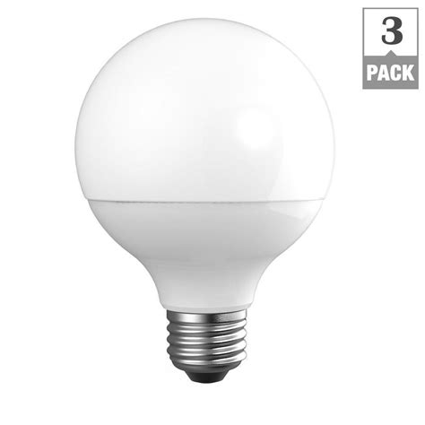 led light bulbs for the home ecosmart 60w equivalent daylight g25 dimmable frosted led