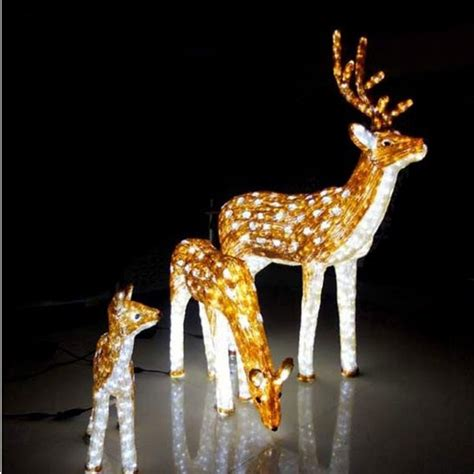 led motif light 3d outdoor reindeer lights buy