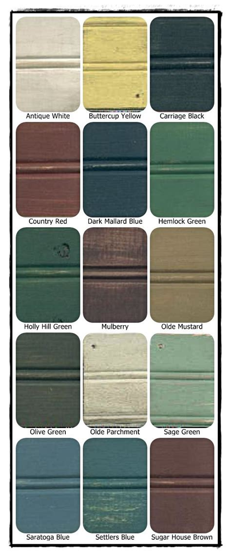 paint colors for country 17 best images about rustic primitive decor on