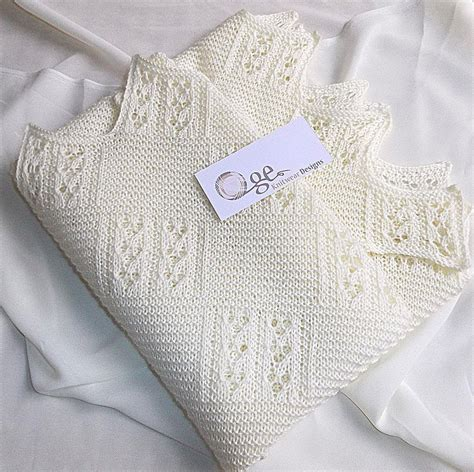 knitting patterns for baby blankets and shawls baby knit blanket or shawl by oge designs craftsy