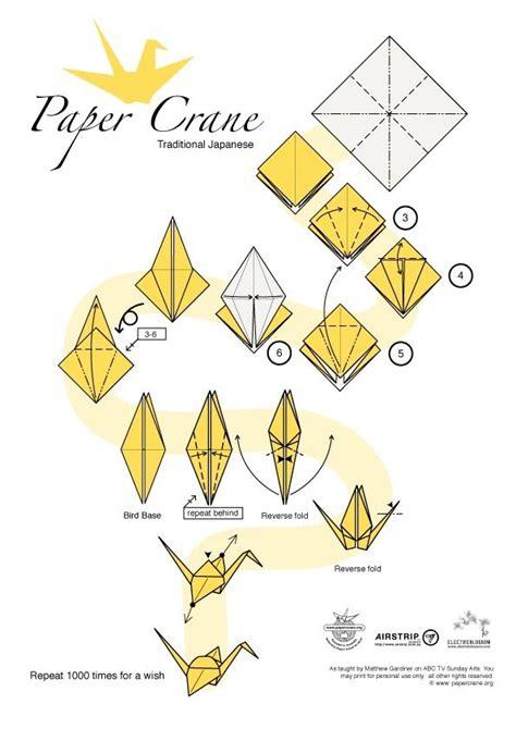 origami crane folding for a paper crane 0rigami enchanting