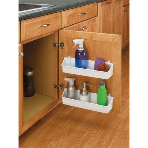 cabinet door storage trays rev a shelf kitchen cabinet door mounting storage shelf