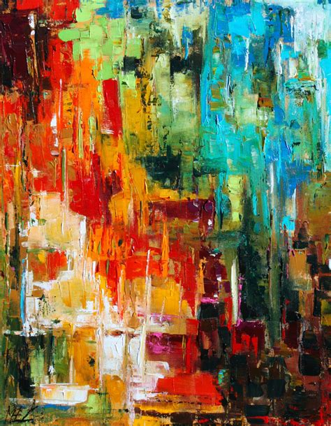 acrylic painting palette knife custom order abstract palette knife original by