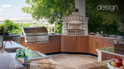 outdoors kitchen luxury outdoor kitchens brown outdoor kitchens