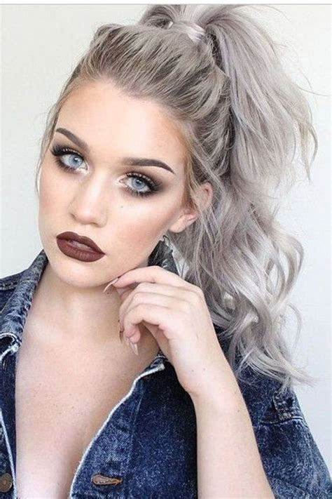 popular trending gray hair colors gorgeous grey hair trend colors you should consider