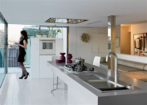 faber kitchen sinks franke exhibition at fuorisalone home appliances world