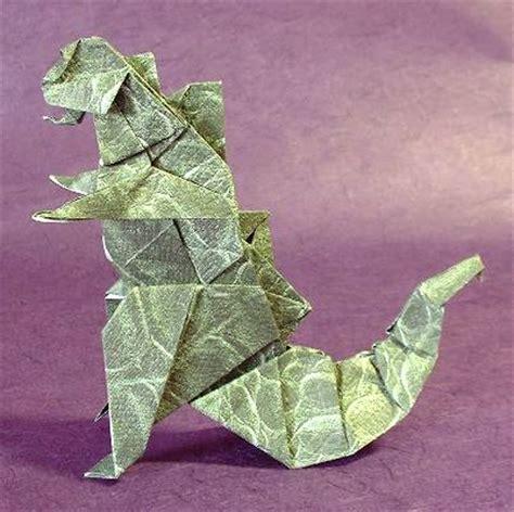 how to make an origami godzilla origami godzilla gilad s origami page