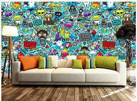 graffiti wall murals 3d photo wallpaper custom 3d wall murals wallpaper setting