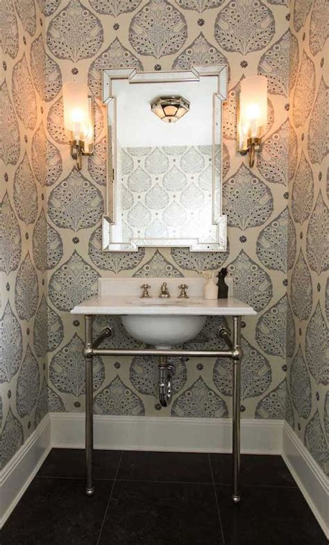 wallpaper for powder room top 10 powder room wallpapers mcgrath ii