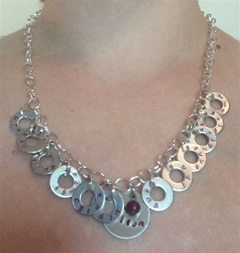 make metal jewelry personalized metal sted name jewelry custom diy