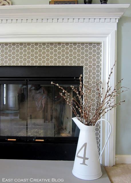 diy chalk paint fireplace how to paint a fireplace