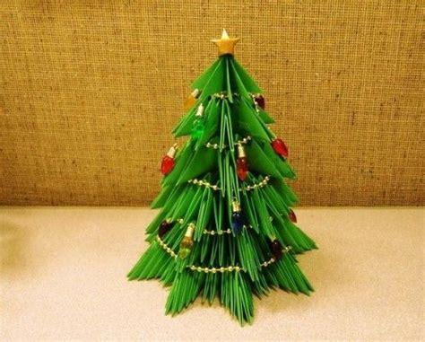 modular origami tree modular origami trees natale