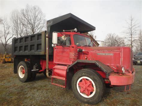 Auto Car Dump Truck For Sale by 1965 Autocar Single Axle Hd Dump Truck Used For Sale