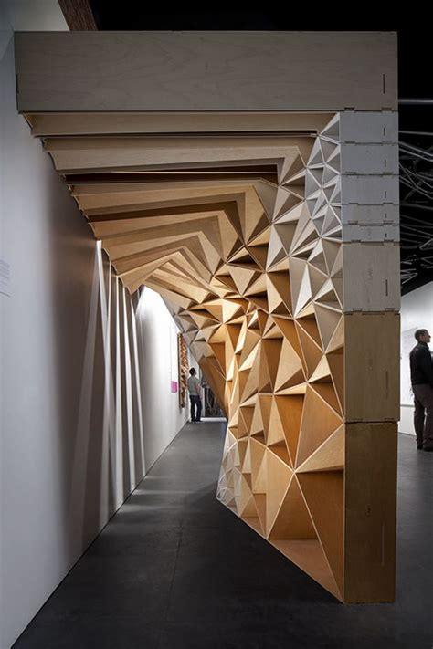interior wood designs stack ken mishima archinect installations