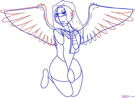 how to draw anime how to draw anime wings see to world