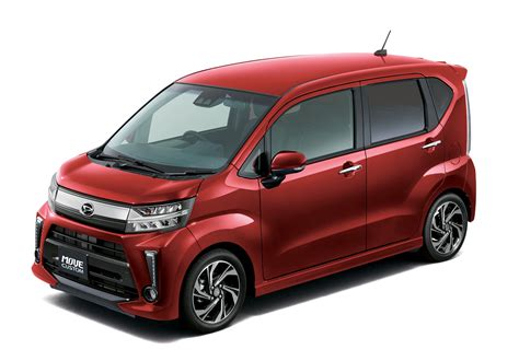 Daihatsu Japan by Daihatsu Updates The Move Its Tiny Jdm Wagon