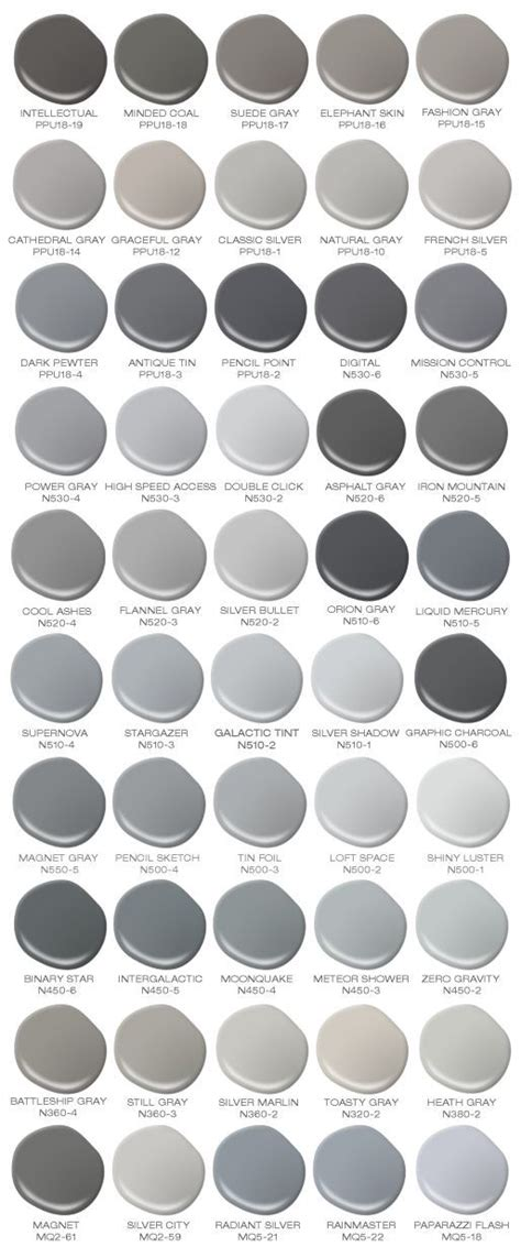 gray paint color 25 best ideas about shades of grey on 50 grey