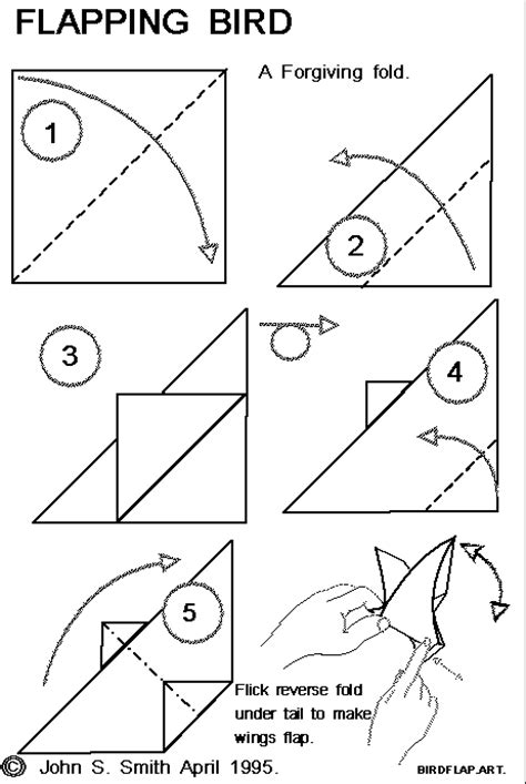 5 step origami 5 steps origami bird 2016