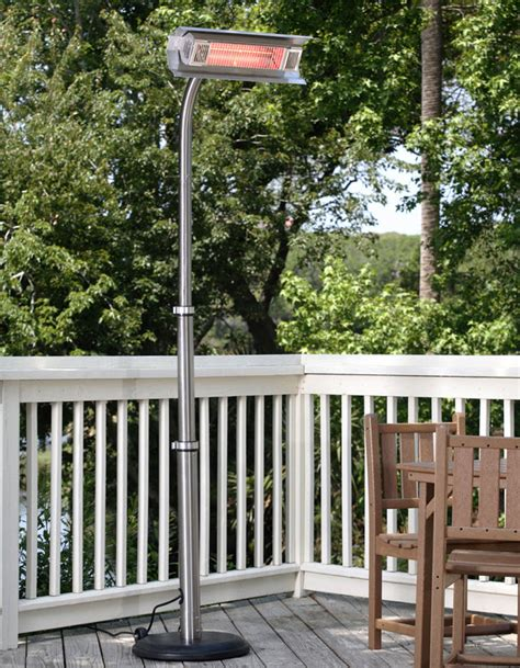 87 stainless steel patio heater 87 stainless steel telescoping pole mounted infrared