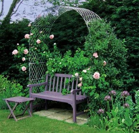 Garden Arch And Bench Beatiful Garden Arches Arbors And Pergolas Creating