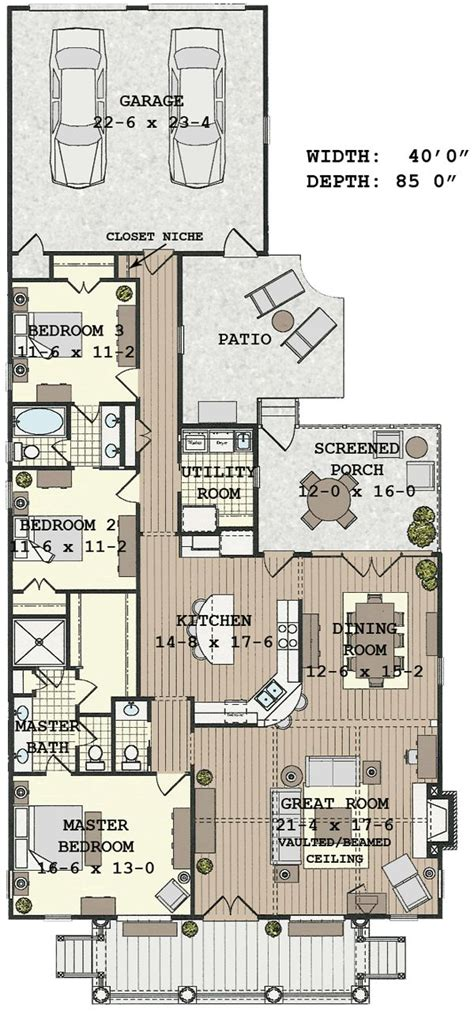 house floor plans for narrow lots 25 best ideas about narrow lot house plans on