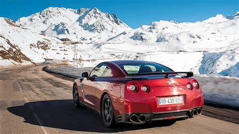 Car Wallpaper Winter by Nissan Nissan Gt R Winter Car Wallpapers Hd Desktop