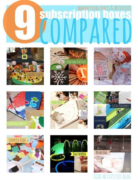 kid craft subscription box 12 subscription craft boxes for compared crafts