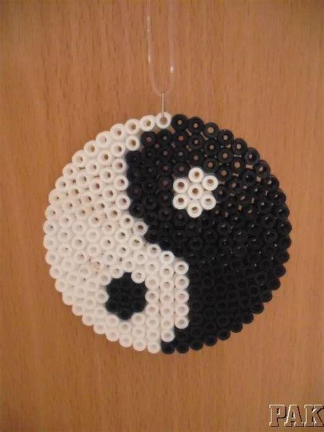 yin yang perler details about yin yang hanger fridge magnet or coaster