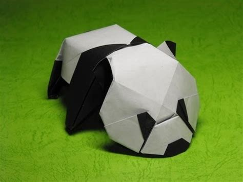 origami panda origami baby panda by jacky chan